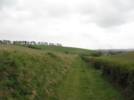 Approaching Sheepridge Lane