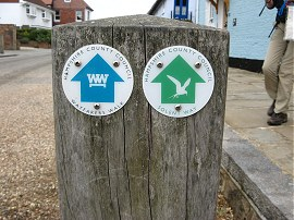 Way Markers, Langstone High Street
