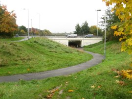The A312 Underpass