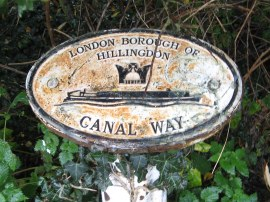 London Borough Boundary Marker