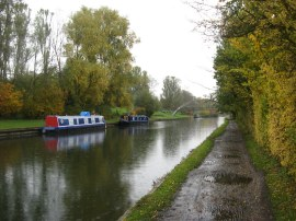 Grand Union Canal nr Hayes