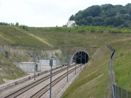 Crossing the Channel Tunnel Rail Link
