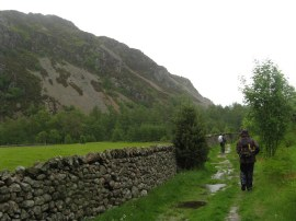 Path round Ennerdale Water