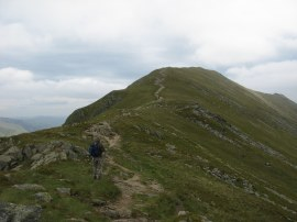 Heading towards St Sunday Crag