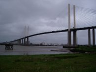 The QEII Bridge, Dartford
