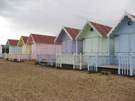 Beach huts, West Mersea