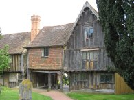 Tudor cottages, Penshurst