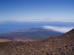 View towards La Palma