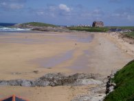 Fistral Bay and Towan Head