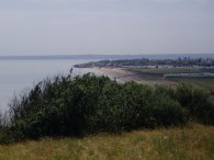 View towards Leysdown