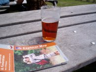 A pint and a map
