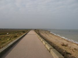 Sea Wall Path nr Birchington