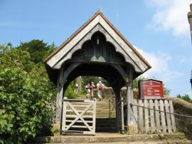 St Lawrence Church Lych Gate