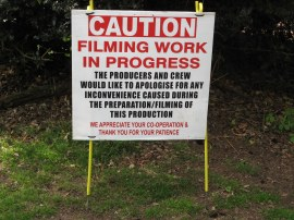 Caution Filming, a slightly different warning