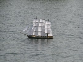 Sailing Boat, Blackpark Lake