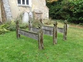 Wooden Grave Markers, Lee Old Church