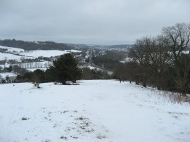 View from West Wycombe Hill