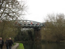 Tube Bridge over the Canal