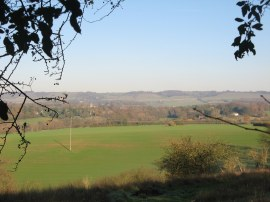 View over to the North Downs