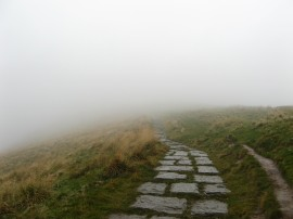 Path leading to Mam Tor
