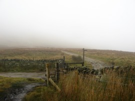 Reaching the Pennine Way