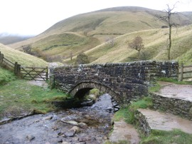 Small stone bridge