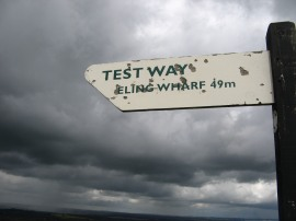Test Way signpost