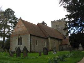All Saints' Church, Ham