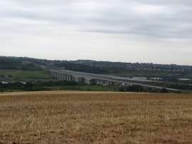 View over the Medway Valley