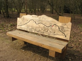 River Ver Trail Bench