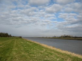 View down the River Great Ouse